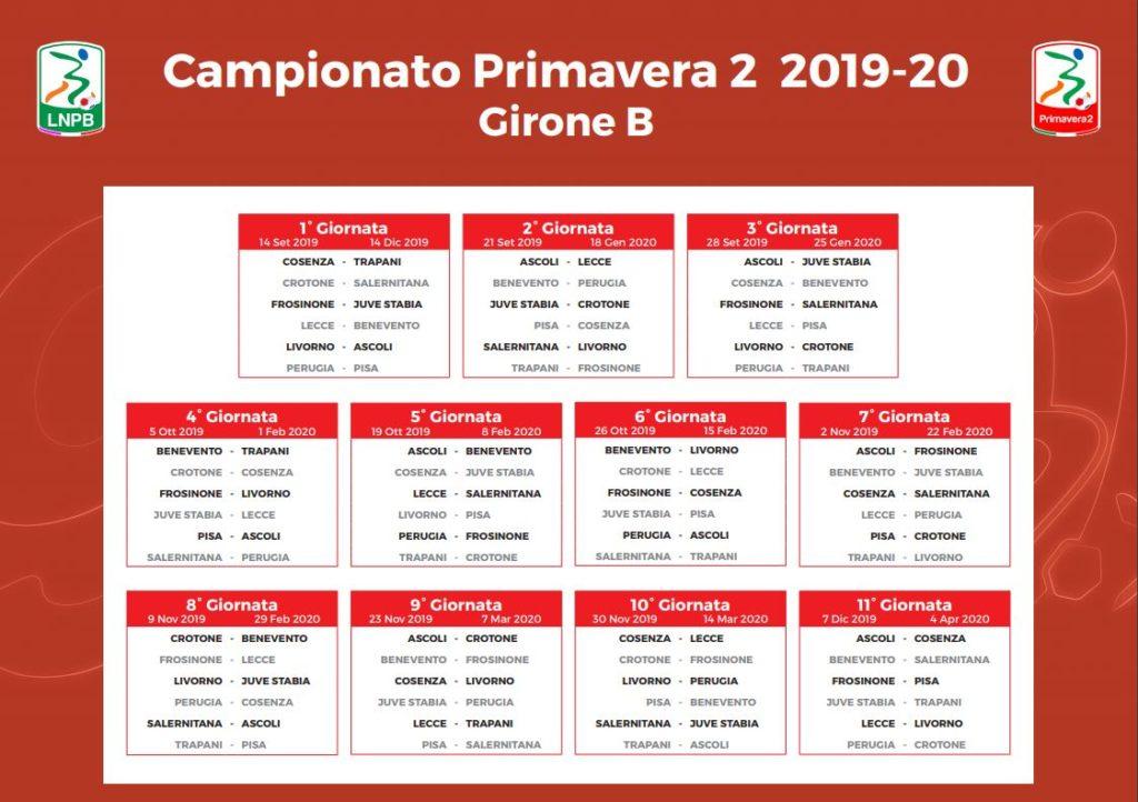 Calendario Benevento Calcio.Primavera Al Via Si Parte Con Lecce Benevento Calcio Lecce