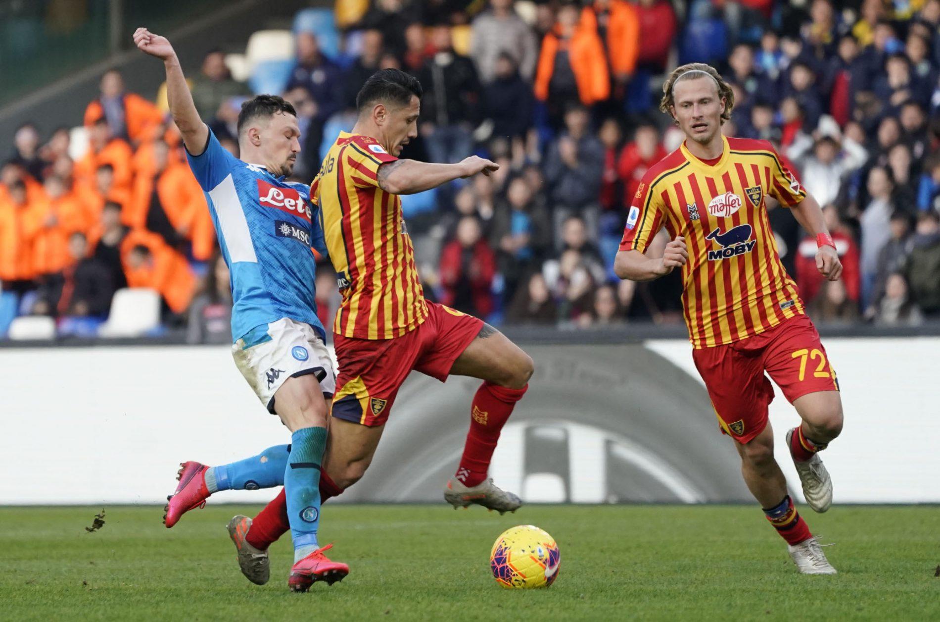 Napoli-Lecce: pagelle a confronto - Calcio Lecce