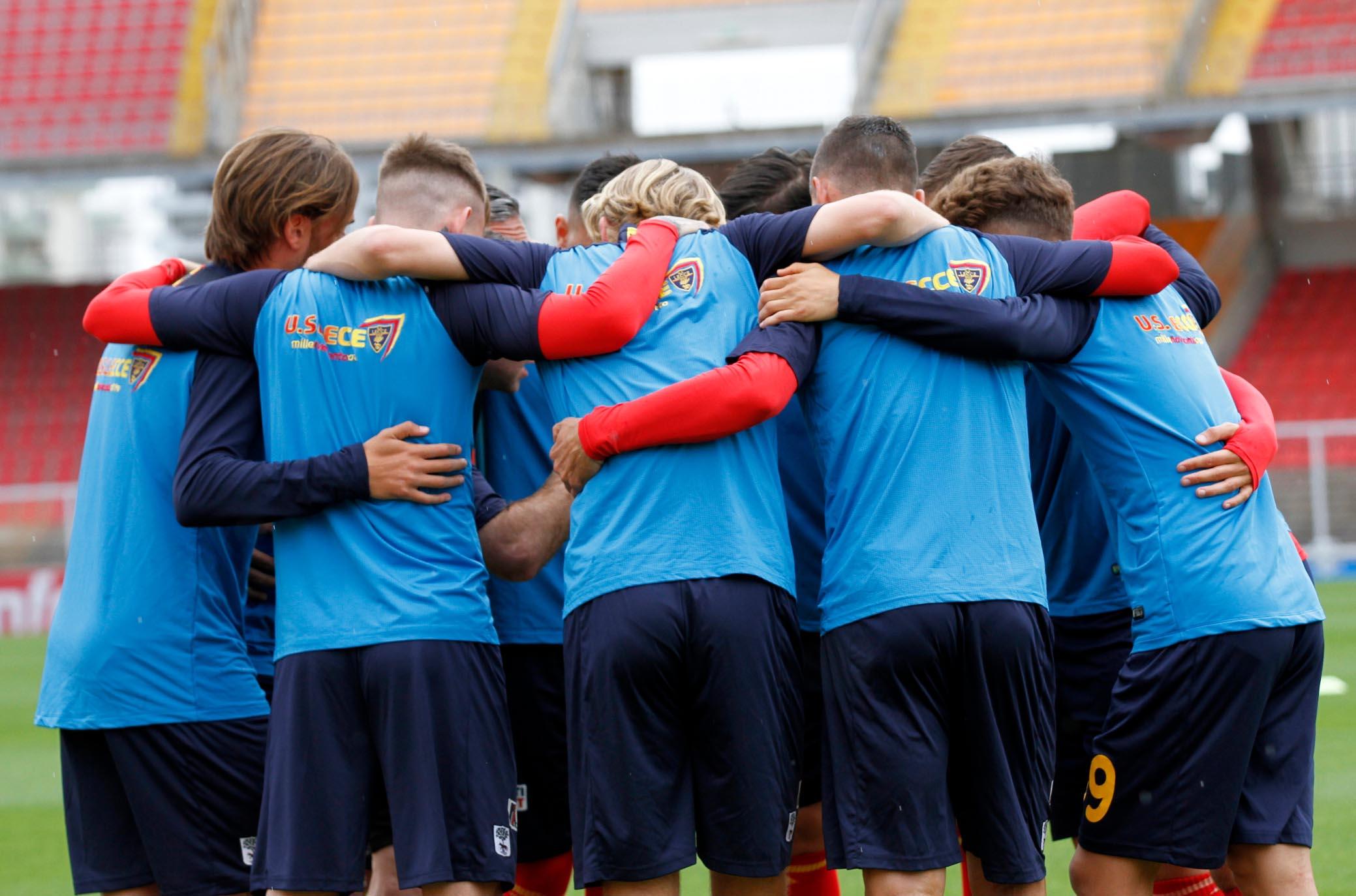 Lecce domani mattina in campo per preparare il Monza - Calcio Lecce